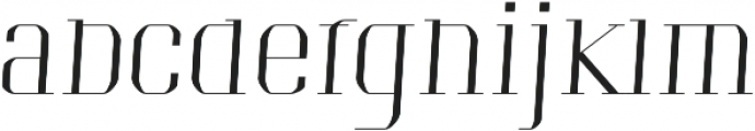 Portize otf (400) Font LOWERCASE