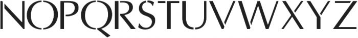 Portman ttf (400) Font LOWERCASE