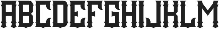 Porto Regular otf (400) Font UPPERCASE