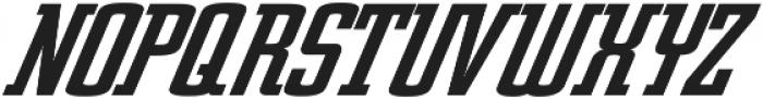 Posterface Italic Italic otf (400) Font UPPERCASE