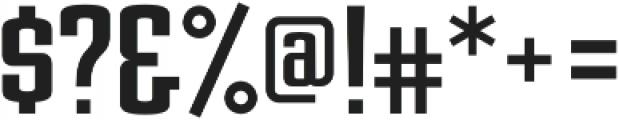 Posterface Sans Regular otf (400) Font OTHER CHARS