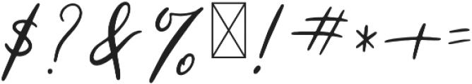 Powder Regular otf (400) Font OTHER CHARS