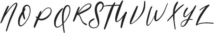 Powder Regular otf (400) Font UPPERCASE
