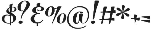 Powder Script Black Regular otf (900) Font OTHER CHARS
