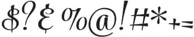 Powder Script Regular Regular otf (400) Font OTHER CHARS