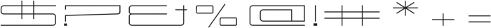 Power Regular otf (400) Font OTHER CHARS