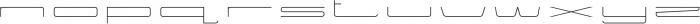 Power Regular otf (400) Font LOWERCASE
