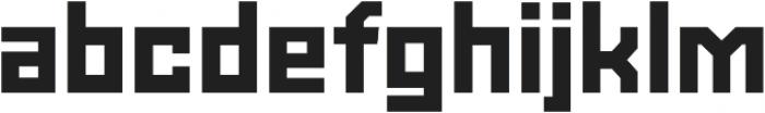 Powerlane Black otf (900) Font LOWERCASE