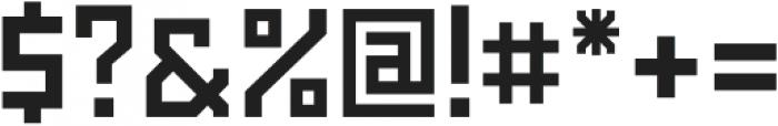 Powerlane Bold otf (700) Font OTHER CHARS