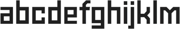 Powerlane Bold otf (700) Font LOWERCASE
