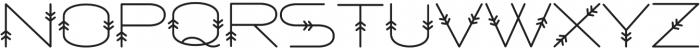 Powhatan Bold otf (700) Font UPPERCASE