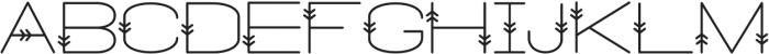Powhatan Bold otf (700) Font LOWERCASE
