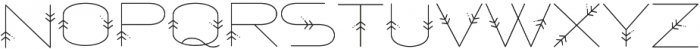 Powhatan Detailed otf (400) Font UPPERCASE
