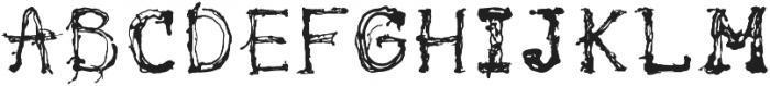 pollock ttf (400) Font UPPERCASE