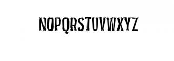 PocusPrimeraDistorted.ttf Font UPPERCASE