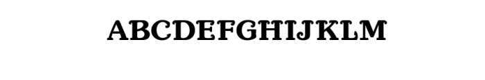 Port anchor Font UPPERCASE