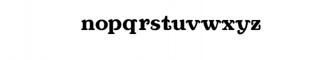 Port anchor Font LOWERCASE