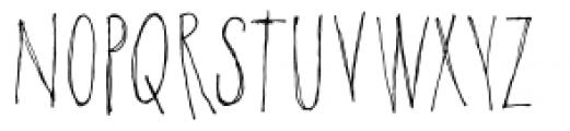 Poison Ivy Font UPPERCASE