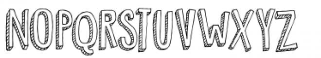 Pondicherry Font UPPERCASE
