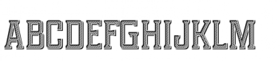 Portsmouth Loaded Font LOWERCASE