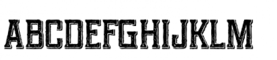 Portsmouth Second Fleet Textured Font LOWERCASE