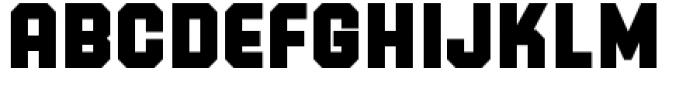 PowerStation Block Low Font UPPERCASE