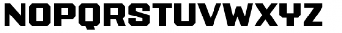 PowerStation Solid Wide Font LOWERCASE