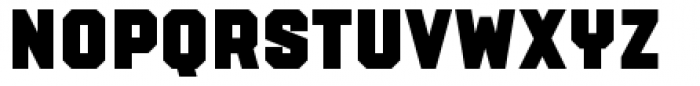 PowerStation Wedge Low Font LOWERCASE