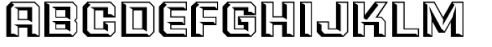 PowerStation Wedge Wide Font UPPERCASE