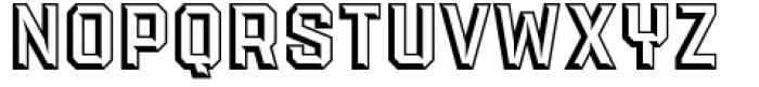 PowerStation Wedge Font UPPERCASE