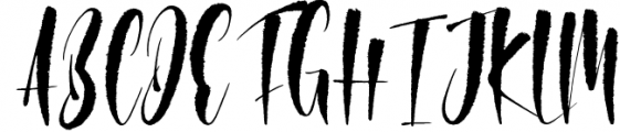 Polemit Shirasata Font Duo Font UPPERCASE