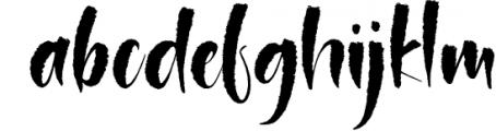 Polemit Shirasata Font Duo Font LOWERCASE