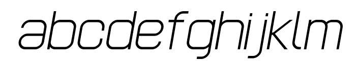 POE Headline Italic Font LOWERCASE