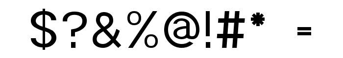 POE Monospace Font OTHER CHARS