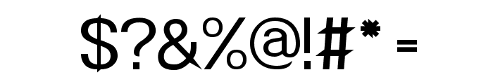 POE Redcoat New Font OTHER CHARS