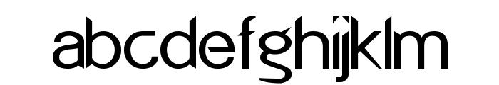 POE Redcoat New Font LOWERCASE