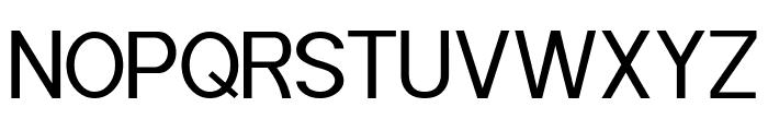 POE Sans (Demo) Font UPPERCASE