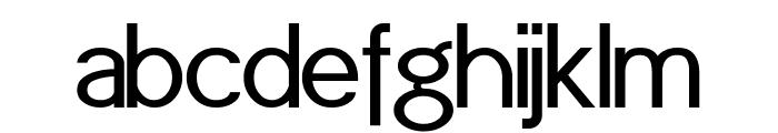 POE Sans (Demo) Font LOWERCASE