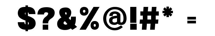 POE Sans New Black Font OTHER CHARS