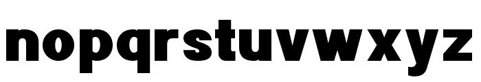 POE Sans New Black Font LOWERCASE