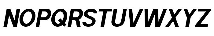 POE Sans Pro Bold Italic Font UPPERCASE