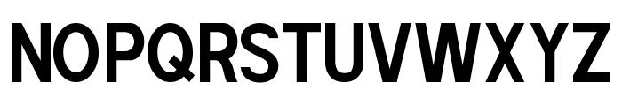 POE Sans Pro Condensed Bold Font UPPERCASE