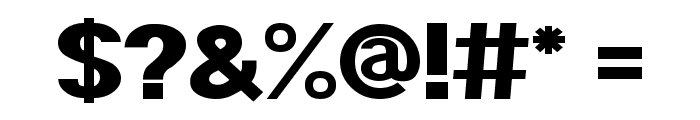 POE Sans Pro Expanded Heavy Font OTHER CHARS