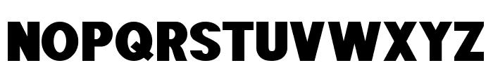 POE Sans Pro Expanded Heavy Font UPPERCASE