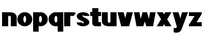 POE Sans Pro Expanded Heavy Font LOWERCASE