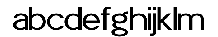 POE Sans Pro Expanded Font LOWERCASE