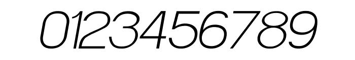 POE Sans Pro Extra Light Italic Font OTHER CHARS