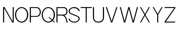 POE Sans Pro Extra Light Font UPPERCASE