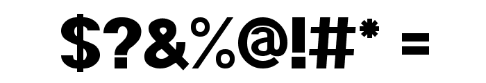 POE Sans Pro Heavy Font OTHER CHARS
