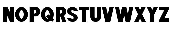 POE Sans Pro Heavy Font UPPERCASE